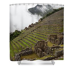 Terraces Shower Curtain