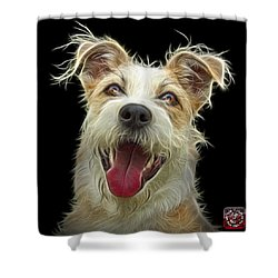 Terrier Mix 2989 - Bb Shower Curtain