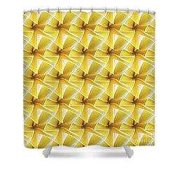 Tessel Flower Shower Curtain