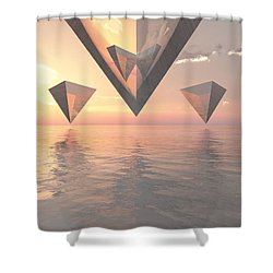 Tessellate Shower Curtain