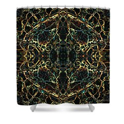 Tessellation V Shower Curtain by David Gordon