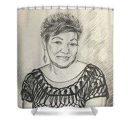 Tessie Guinto  Shower Curtain by Rosencruz  Sumera