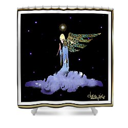 Heavenly Visit Shower Curtain