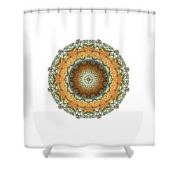 Shower Curtain featuring the digital art Test by Lyle Hatch