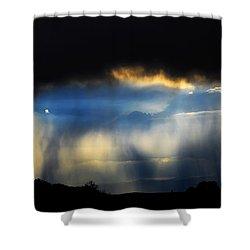 Tesuque Weather Vistas Shower Curtain