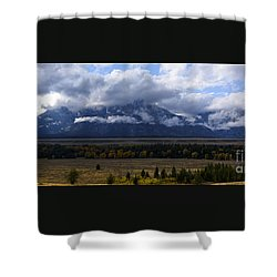 Teton Range # 1 Shower Curtain