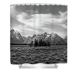 Teton Range Shower Curtain