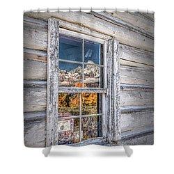 Teton Reflection Shower Curtain