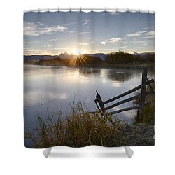 Teton Star Shower Curtain