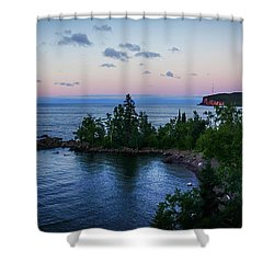 Tettegouche Sunset Shower Curtain