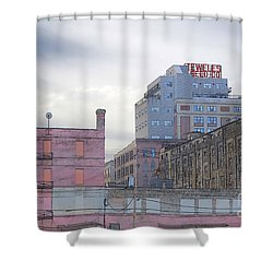 Teweles Seed Co Shower Curtain by David Blank