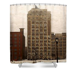 Teweles Teweles Shower Curtain by David Blank