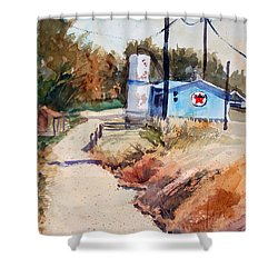 Texaco Shower Curtain