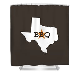 Texas Bbq Shower Curtain
