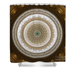 Shower Curtain featuring the photograph Texas Capital by Robert Meanor