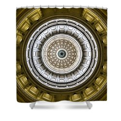 Texas Capitol Dome Shower Curtain