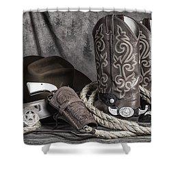 Texas Lawman Shower Curtain