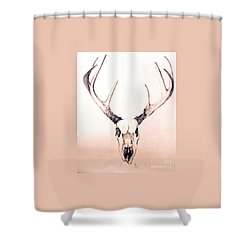Texas Mount Deer Shower Curtain