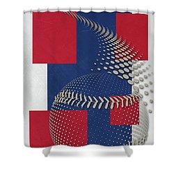 Texas Rangers Art Shower Curtain