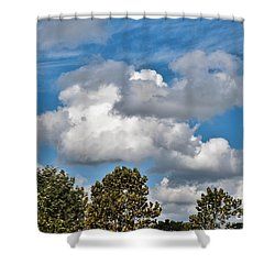 Shower Curtain featuring the photograph Texas - Reach For The Sky.   by Ray Shrewsberry