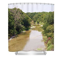 Texas River Shower Curtain