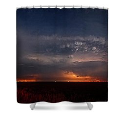 Texas Storm Shower Curtain
