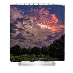 Texas Sunset Shower Curtain