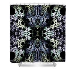 Texturized  Shower Curtain