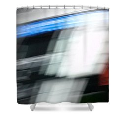 TGV Shower Curtain by Steven Huszar
