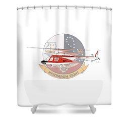 Shower Curtain featuring the digital art Th-57c Ht-8 by Arthur Eggers