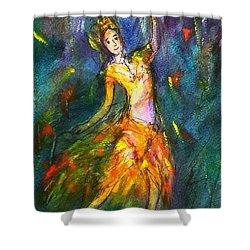 Thai Dancing Shower Curtain