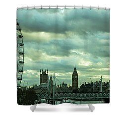 Thames View 1 Shower Curtain