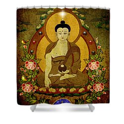 Thangka Painting Shower Curtain