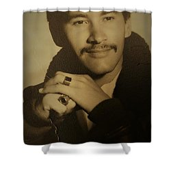 Shower Curtain featuring the photograph Thank You For Your Service by Paul SEQUENCE Ferguson sequence dot net