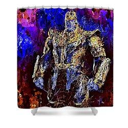 Thanos Shower Curtain
