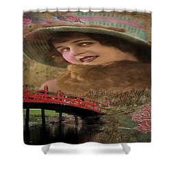 That Day Last Autumn Shower Curtain by Wallaroo Images