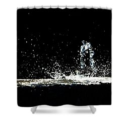 That Falls Like Tears From On High Shower Curtain by Bob Orsillo
