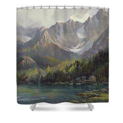 That Glorious Light Shower Curtain