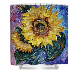 That Sunflower From The Sunflower State Shower Curtain