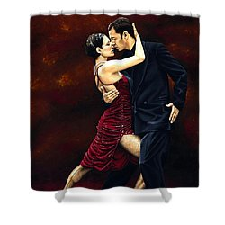 That Tango Moment Shower Curtain by Richard Young