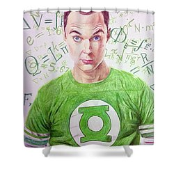 That's My Spot Shower Curtain