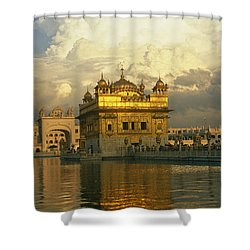 The 16-th Century Golden Temple Shower Curtain
