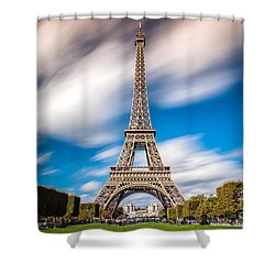 The 1665 Steps Climb Shower Curtain