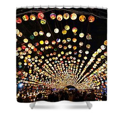 The 2017 Lantern Festival In Taiwan Shower Curtain