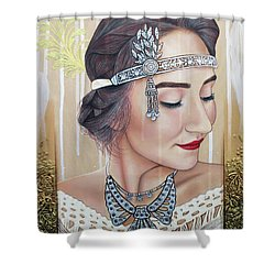 The 20s Reborn Shower Curtain