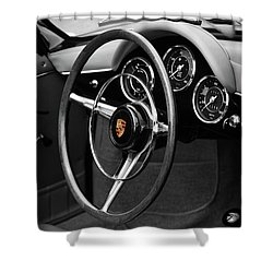 The 356 Roadster Shower Curtain by Mark Rogan