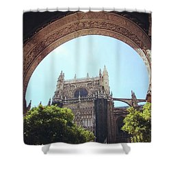 Catedral De Sevilla Shower Curtain
