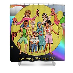 The 4th R Shower Curtain