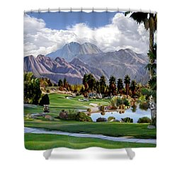 The 5th At Woodhaven Shower Curtain