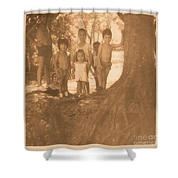 The 70's Series - 1 Shower Curtain by Beto Machado